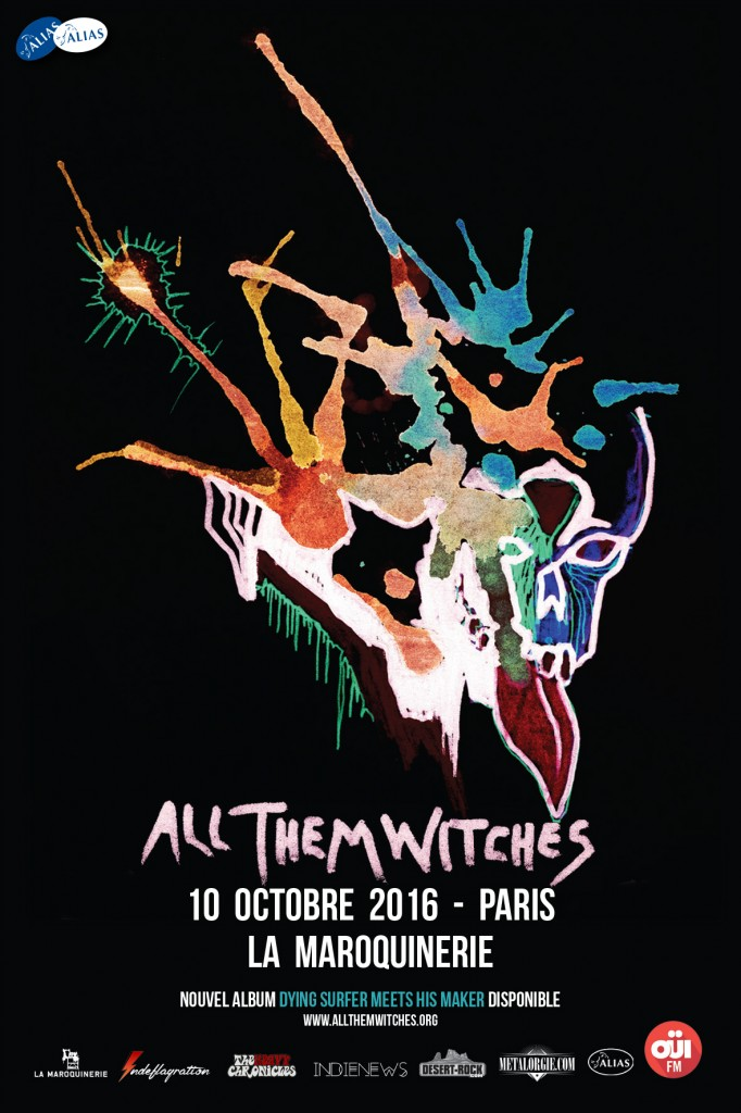 All Them Witches Paris artwork v2